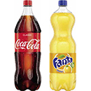 Coca-Cola, Fanta, Coca-Cola light, Mezzo-Mix