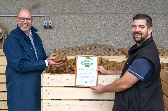Jakobis Nachbar Januar: Kartoffel Ehret