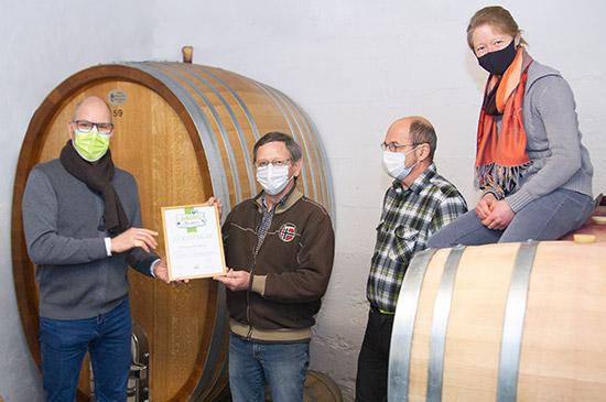 Jakobis Nachbar März: Weingut Freiberger
